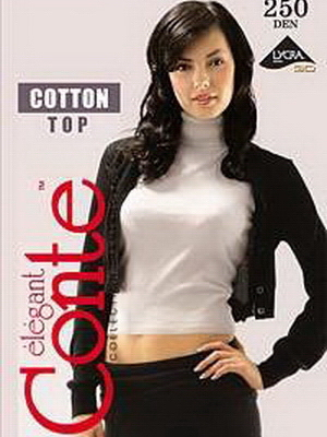 Колготки женские Cotton 250XL