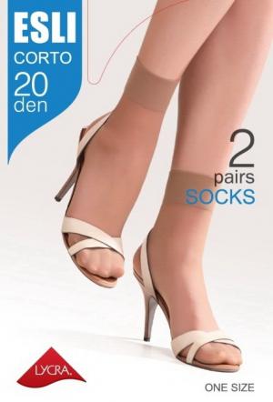 Носки женские ESLI CORTO 20 (2 пары)