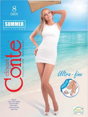 Колготки женские Summer 8 Open Toe