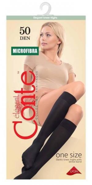Гольфы Microfibra 50 (1 пара)(конверт)