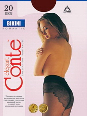 Колготки женские Bikini 20