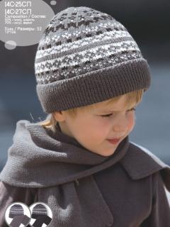 Комплект дет.трикотажный (шапка+шарф) 14С-25СП,14С-27СП