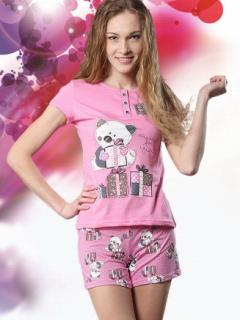ДЛЯ ТЕБЯ Пижама жен(майка+шорты)