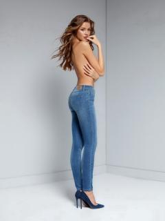 Брюки джинсовые женские 756/4909D