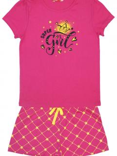 Пижама для девочек(98-56-:-128-64) 9157