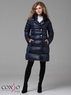 Пальто пуховое женское WMF 180520