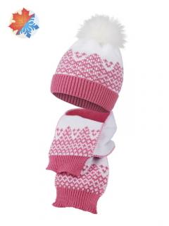 Комплект детский трикотажный 2-х предметный: шапка и шарф ESLI (50-52: 14х112) 17С-91СП:17С-147СП